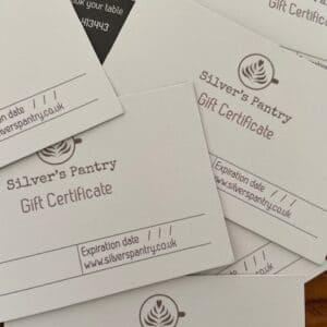 silvers pantry gift voucher