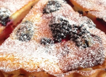 Apple Blackberry Custard Tart