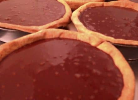 Dark Chocolate Tarts